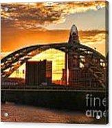 Dan C Beard Bridge 9917 Acrylic Print