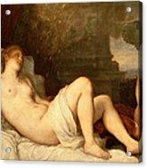 Danae Acrylic Print by Titian