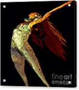 Dance Free Acrylic Print by Artist and Photographer Laura Wrede