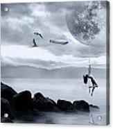 Dance In The Moon Acrylic Print