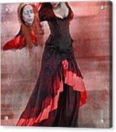 Dance Macabre Acrylic Print by Hazel Billingsley