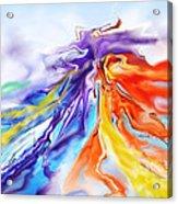 Dance Of Colors Acrylic Print