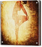 Dance Of The Fool Acrylic Print
