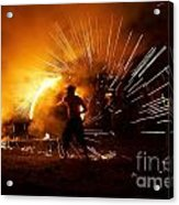 Dance On Fire Acrylic Print