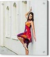 Dance On The Wall Acrylic Print