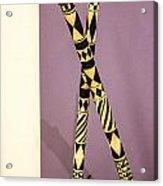 Dance Sticks Acrylic Print