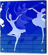 Dance The Blues Away Acrylic Print