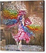 Dance Through The Color Of Life Acrylic Print