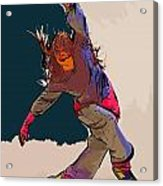 Dancer 40 Acrylic Print