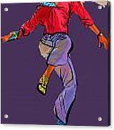 Dancer 42 Acrylic Print
