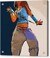 Dancer 64 Acrylic Print