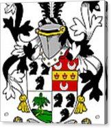 Dancer Coat Of Arms Irish Acrylic Print