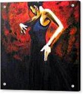 Dancer Flamenco Acrylic Print