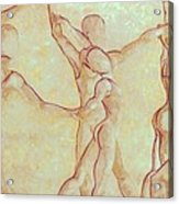Dancers - 10 Acrylic Print