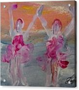 Dancers 135 Acrylic Print