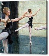 Dancers At Work Acrylic Print