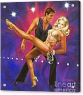 Dancer's Fantasy Acrylic Print