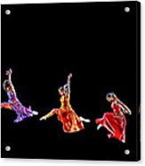 Dancers In Flight Acrylic Print