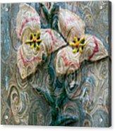 Dances With Flowers Acrylic Print