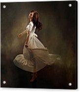 Dancing Dream Acrylic Print by Cindy Singleton