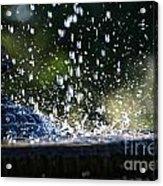 Dancing Droplets Acrylic Print