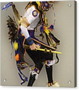 Pow Wow Dancing For The Spirit Acrylic Print