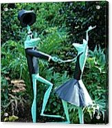 Dancing Frogs Acrylic Print