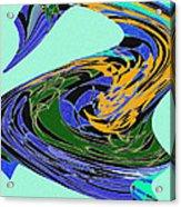 Dancing Goose Acrylic Print