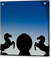 Dancing Horses Acrylic Print