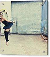 Dancing In A Junk Yard Acrylic Print