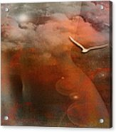Dancing In Clouds... Acrylic Print