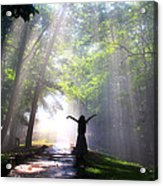Dancing In God's Light Copyright Willadawn Photography Acrylic Print