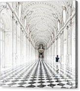 Dancing In The Galleria Grande Acrylic Print