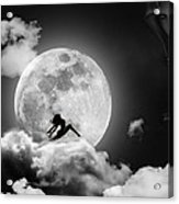Dancing In The Moonlight Acrylic Print by Alex Hardie