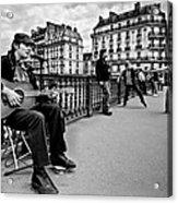 Dancing In The Streets Of Paris / Paris Acrylic Print