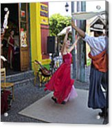 Dancing In The Streets Acrylic Print