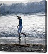 Dancing On The Beach Acrylic Print