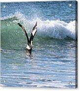 Dancing On The Waves Acrylic Print
