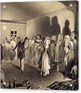 Dancing Party At Kagha-choura Acrylic Print
