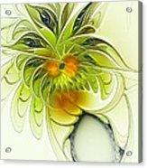 Dancing Petals Acrylic Print