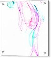 Dancing Smoke. Acrylic Print