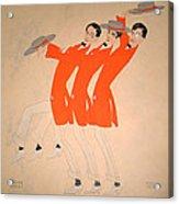 Dancing Song Acrylic Print