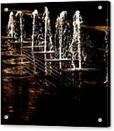 Dancing Waters Acrylic Print