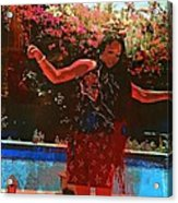 Dancing With Myself - Not By Myself Acrylic Print