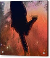 Dancing With The Stars Acrylic Print