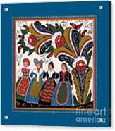 Dancing Women 4 Acrylic Print