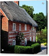 Dane Cottage Nether Wallop Acrylic Print