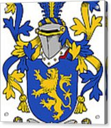 Daniel Coat Of Arms Irish Acrylic Print