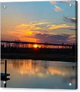 Daniel Island Sunset Acrylic Print