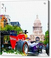 Daniel Ricciardo Of Australia Acrylic Print